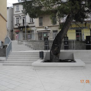 Uređenje Trga Stjepana Radića u Crikvenici