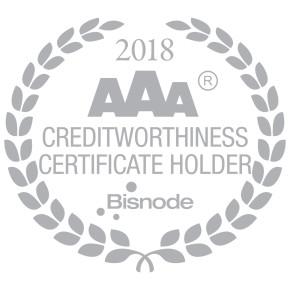 AAA Certifikat izvrsnosti 2018