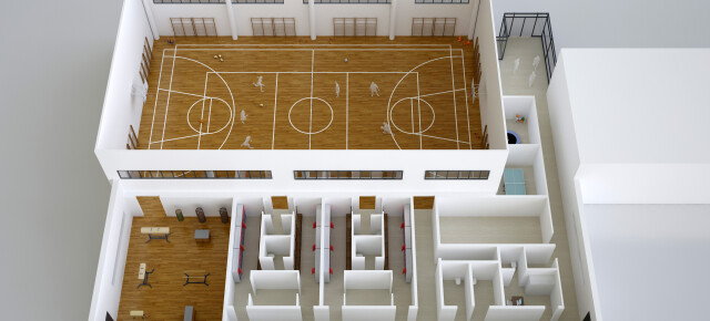 Sportska dvorana uz O.Š. u Graberju Ivanićkom