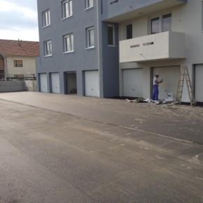 Uređenje prometnice i parkirališta zgrade POS u Varaždinu